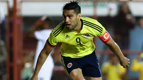 Radamel falcao PNG