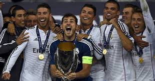 Real Madrid Super Cup winners 2014