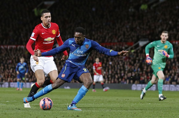 WELBECK VS MAN UTD